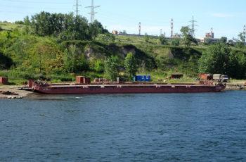 Несамоходное грузовое судно ТК-1868. Проект 942а. Грузоподъемность 1000т